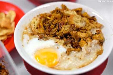 recommended bubur ayam chicken porridge  jakarta