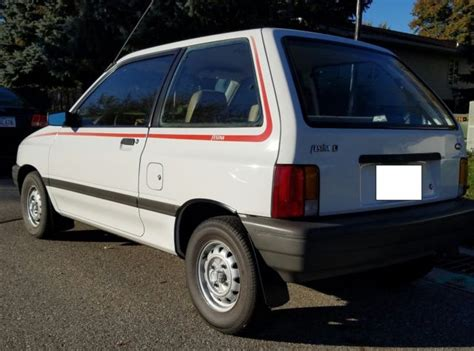 auto air conditioning service 1993 ford festiva transmission control 1989 ford festiva survivor not chevette omni or horizon