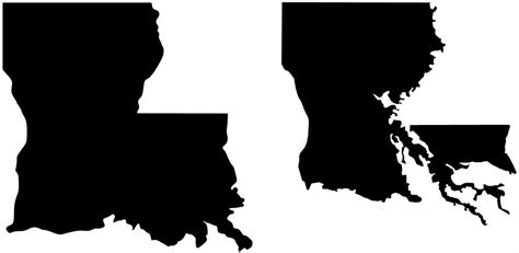 Louisiana Boot Outline by Louisiana S Coast Is Sinking Business Insider