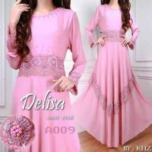 Delisa Maxi by Busana Pesta Delisa Maxi A009 Baju Muslim Modern Butik
