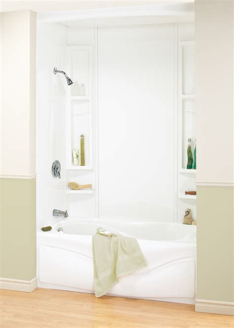 one piece acrylic bathtub shower nickbarron co 100 acrylic tub shower units images my