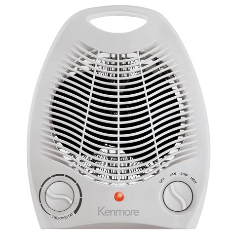 kenmore oscillating compact fan heater kenmore compact heater fan white free shipping new ebay