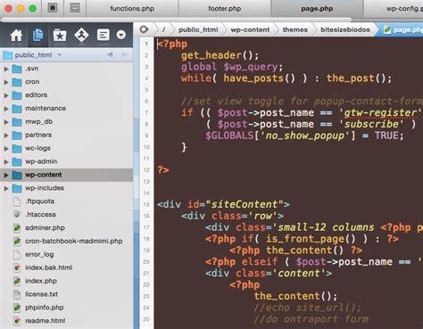 wordpress theme editor mac understanding wordpress themes files and where to find
