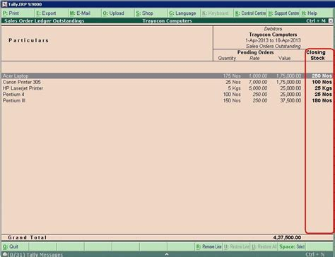 Confirmation Letter In Tally tally customization tally erp 9 sales support