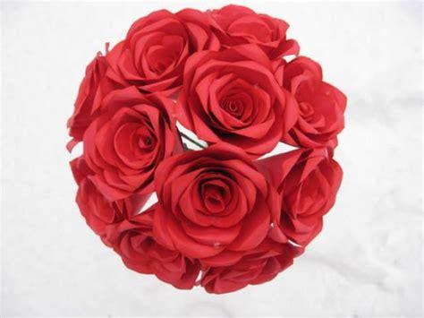 roses that last forever dozen red paper roses paper flowers that last forever