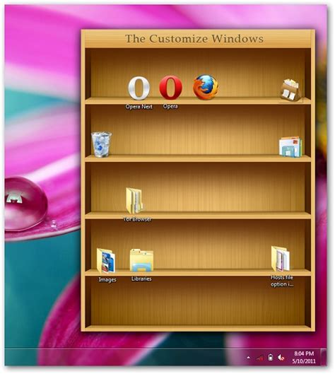 windows 7 bookshelf for icons by abhishekghosh on deviantart