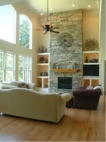 2 story fireplace home design ideas pictures remodel and