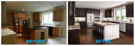 Built In Kitchen Islands by Kitchen Before And After Transformation A Design