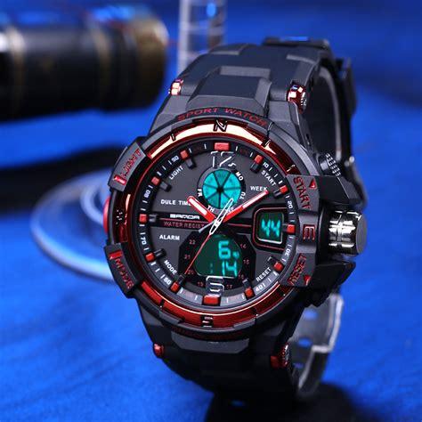 Sanda Jam Tangan Sporty Pria Sd 732 sanda jam tangan sporty pria sd 289 black jakartanotebook
