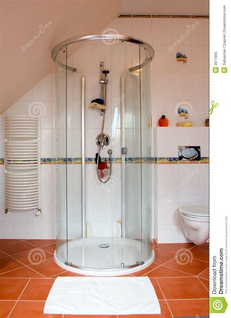 Modern Shower Cabin Royalty Free Stock Photo Image 2617965 Bathroom Shower Cabins