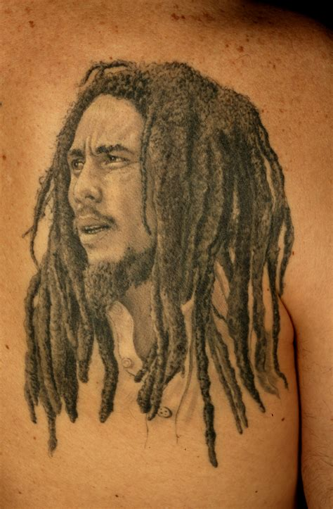 jah on bob marley tattoos bob marley and