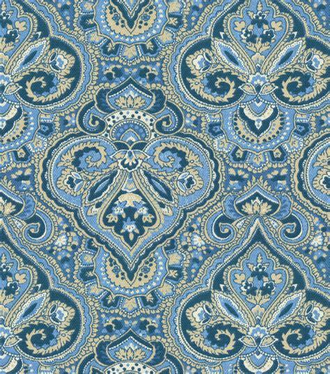 paisley home decor home decor print fabric pkaufmann paris paisley indigo