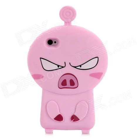 Iphone 55s5se 3d Piggy Pig Silicon 3d pig style protective silicone for iphone 4s iphone 4 pink worldwide free