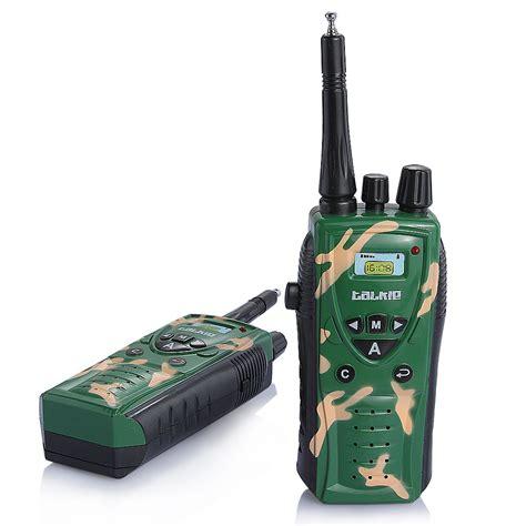 Mainan Anak Children Walkie Talkie 1 Pair 2pcs 2pcs intercom electronic walkie talkies interphone for children parent child camouflage sale