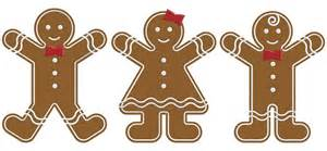 gingerbread people clipart clipart suggest