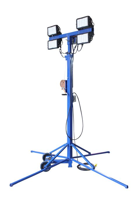 Portable Light Towers by Larson Electronics Releases A 600 Watt Heavy Duty Portable