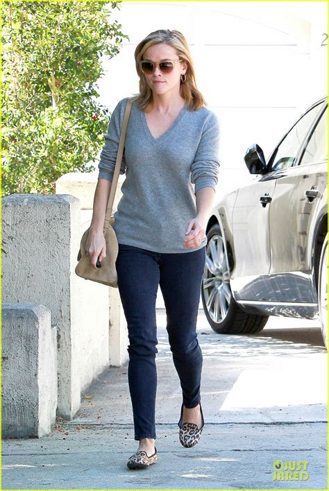 Get Leopard Print Flats Like Cameron And Reese by Reese Witherspoon Fierce Leopard Print Visiting Friend