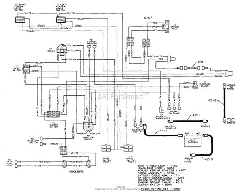 mower ignition switch wiring diagram wiring diagrams