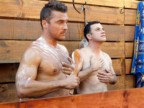 new bachelor chris soules took a homoerotic shower