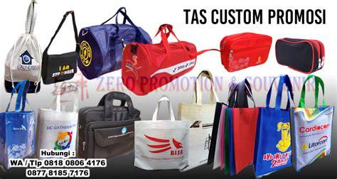 konveksi tas custom promosi  tangerang barang promosi