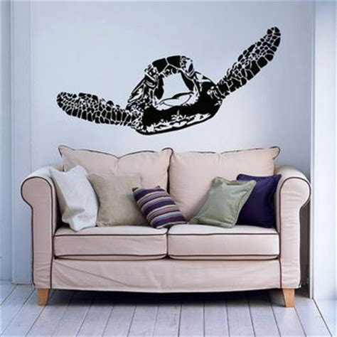 Sea Turtle Bedroom Decor by Sea Turtle Wall Decal Turtle Wall Decal From