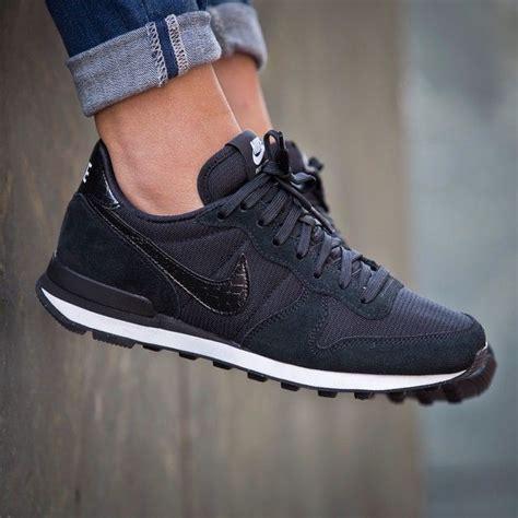 nike womens black sneakers nike wmns internationalist quot black quot 43einhalb sneaker