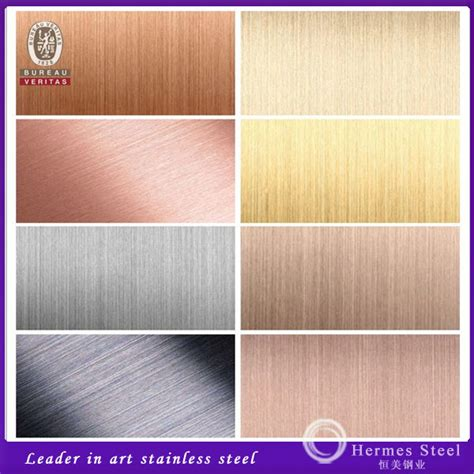 colored stainless steel china sheet metal heat color stainless steel from foshan