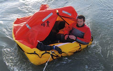 life rafts for small boats six iso 9650 liferafts tested