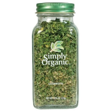 Organic Pantry Staples by Geekshive Simply Organic Cilantro Certified Organic 0 78