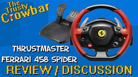 Buy Thrustmaster 458 Spider Racing Thrustmaster 458 Spider Racing Wheel Review