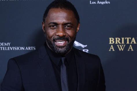 idris elba with his father winston elba during the opening luther star idris elba becomes a father for the second