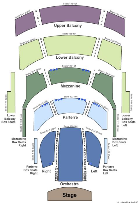 cannon center seating chart concert venues in tn concertfix