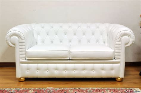 White Leather 2 Seater Sofa Corbusier Style Lc2 Sofa 2 White Leather Two Seater Sofa