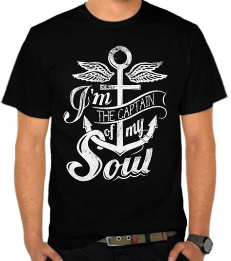 Kaos Distro Lokal Premium Dst794 jual kaos the captain of soul sailing pelayaran