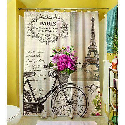 paris themed shower curtain 17 best ideas about paris theme bathroom on pinterest