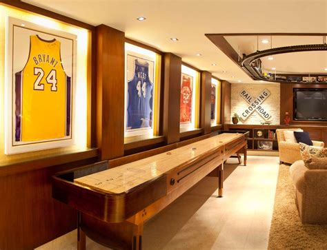 room and board lighting looking shuffleboard table image ideas for home theater traditional