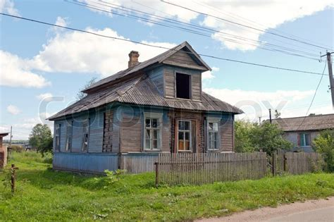 home in russian wooden house in russian stock photo colourbox