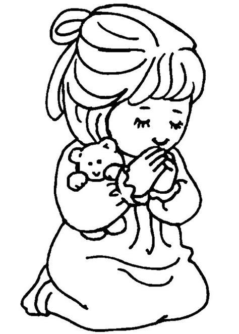 imagenes de ninos rezando para colorear dibujos para colorear de ni 241 os rezando colorear dibujos