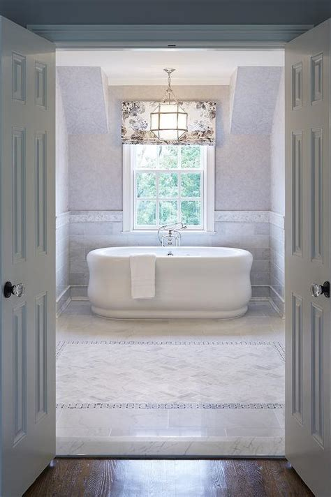 marble wainscoting tub nook with marble wainscoting traditional bathroom