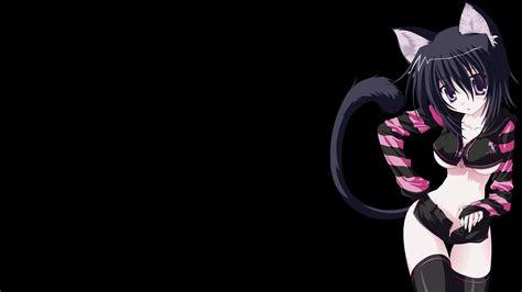 wallpaper cat girl catgirl wallpaper hd wallpapers pinterest anime cat
