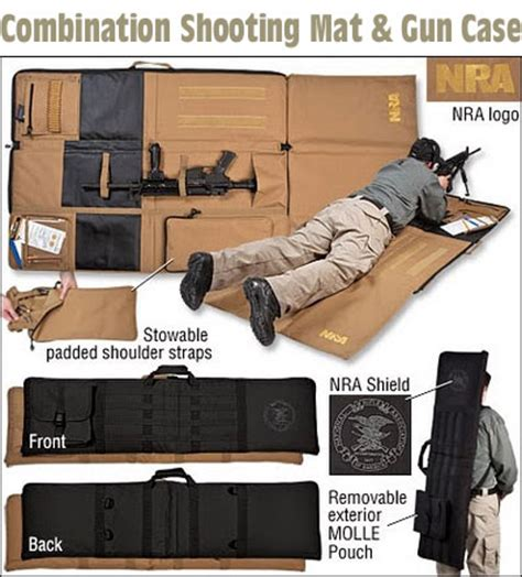Best Shooting Mat by New Combo Shooting Mat And Rifle Carry 171 Daily Bulletin