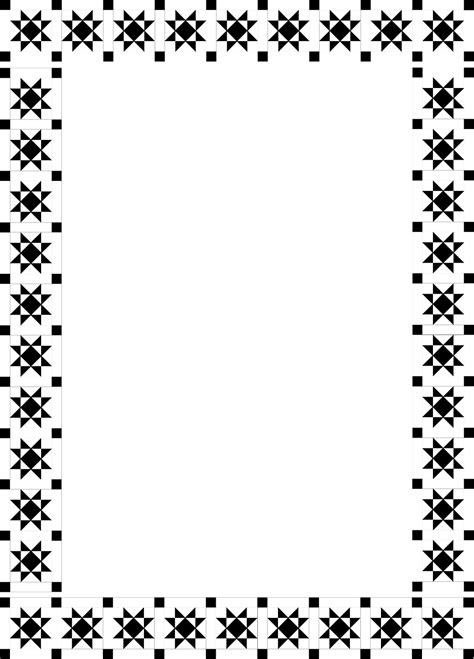 patterns black and white border fancy borders designs black and white clipart best