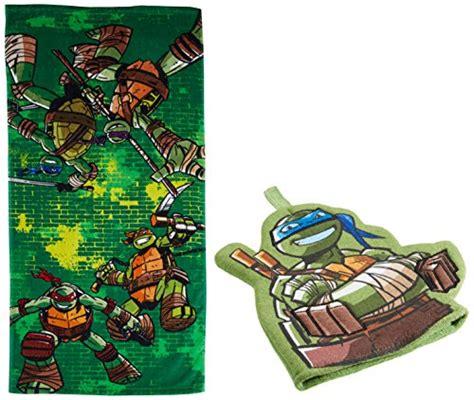 teenage mutant ninja turtles bathroom decor nickelodeon teenage mutant ninja turtles crash landing 100