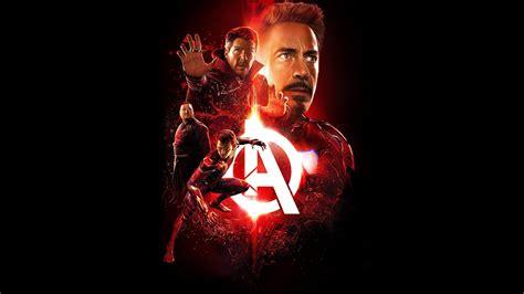 avengers infinity war iron man film wallpaper hd