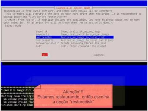 tutorial clonezilla linux tutorial clonezilla youtube