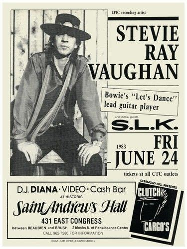 images  stevie ray vaughan  pinterest jeff beck poster prints  stevie ray