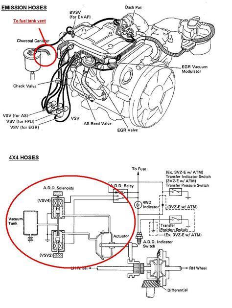 toyota 4runner engine diagram toyota 4runner 3 0 v6 engine diagram circuit diagram maker
