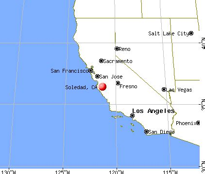 soledad california map soledad california ca 93960 profile population maps