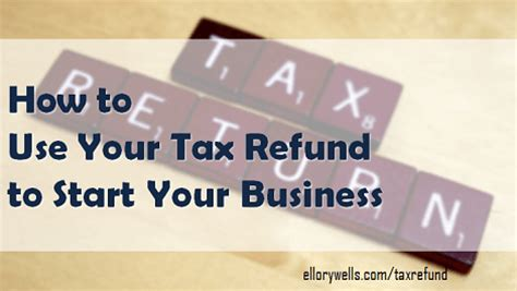 use your tax return to start a business at home ellory wells business coaching consulting