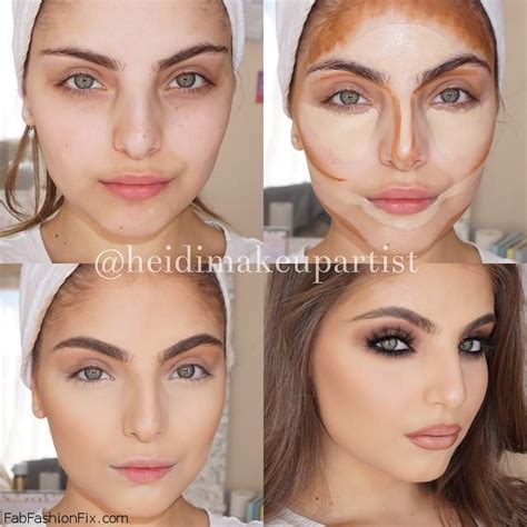 Contour Makeup how to highlight and contour your with makeup like a pro fab fashion fix
